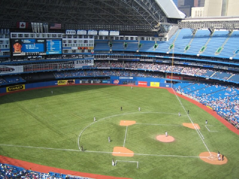 Du lich Canada-11 bi mat-The Rogers Centre