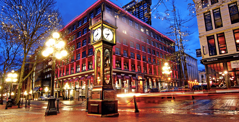 Du lịch Vancouver Gastown