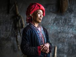 Haunting portraits of Vietnam's disappearing tribes: French photographer documents a way of life that is dying out